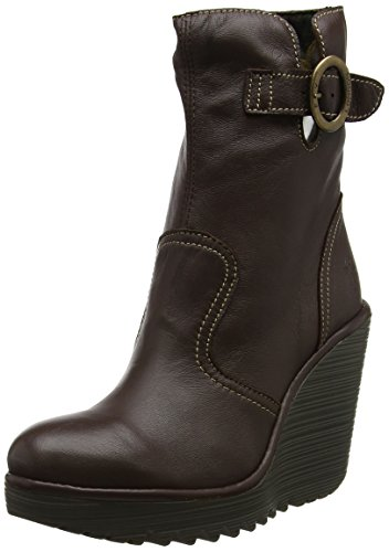 Botas London Dk Conn791fly Fly Brown Marrón Mujer para gpnwfxPEq