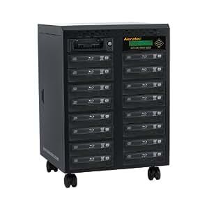 Aleratec 1:15 Blue-Ray DVD CD Tower Duplicator SA Components (260206)