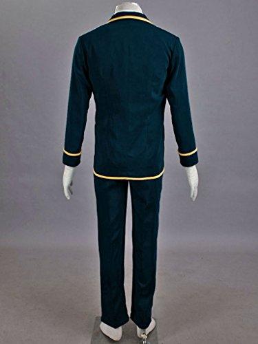 Mtxc Men's Love, Elections & Chocolate Cosplay Costume Ohjima Yuuki School Uniform Size XXX-Large Blue by Mtxc (Image #5)