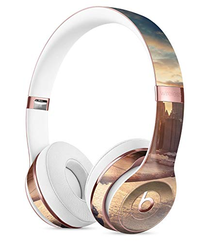 NYC Sunset Eve DesignSkinz Full-Body Skin Kit for The Beats by DRE Solo 3 Wireless Headphones/Ultra-Thin/Matte Finished/Protective Skin Wrap