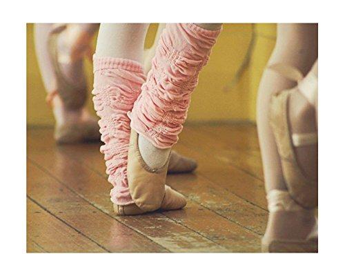 Huggalugs Girls Ballet Pink Legruffle Legwarmers,regular - 6 months to 8 ()