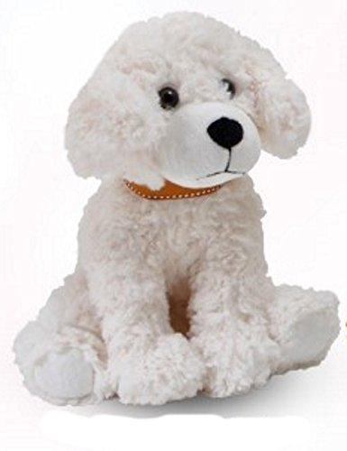 "The Petting Zoo Posh Plush 11"" Scruffy Dog (Cream)"