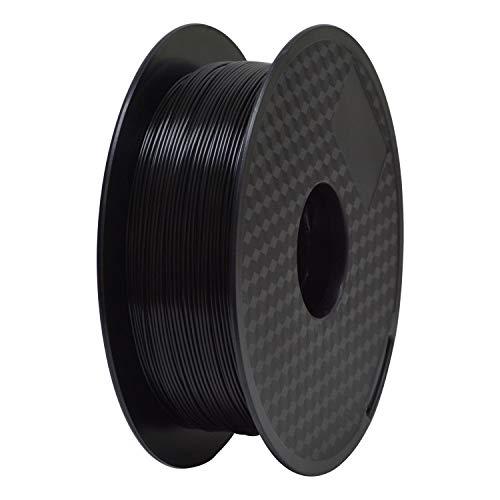 PLA 3D Printer Filament,Geeetech 3D Printer PLA Filament,1.75mm,1kg Spool,Black