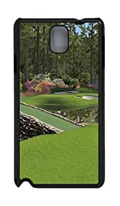 12th Augusta National PC Case and Cover for Samsung Galaxy Note 3 Note III N9000 Black
