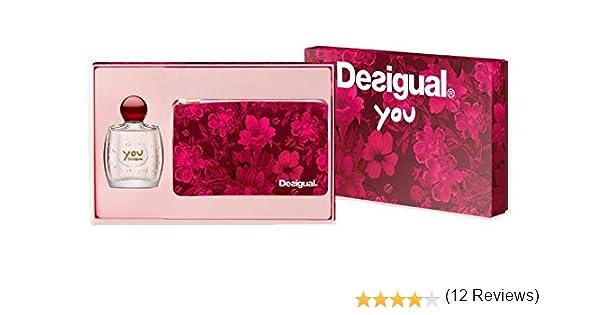 Desigual You Woman Eau De Toilette 50 ml + Neceser: Amazon.es: Belleza