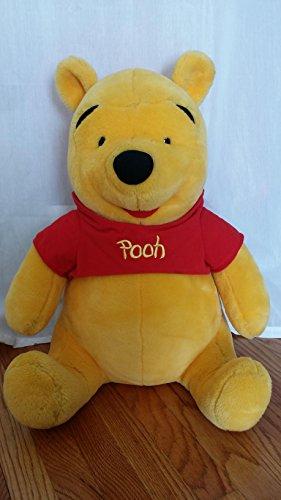 "Winnie the Pooh Large JUMBO 24"" Plush Toy ; Quality Construction"