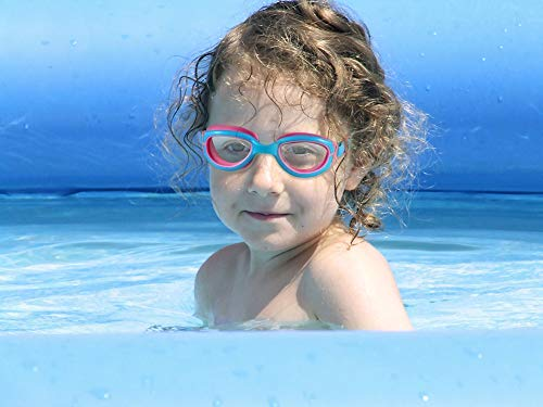Age 4-12 Soft Silicone-100/% UV Protection Shatterproof Lens-Wider Clear Vision- Indoor /& Outdoor,Gray/&Clear Lens Aegend 2 Pack Kids Swim Goggles Anti Fog Water Tight Swimming Goggles for Children