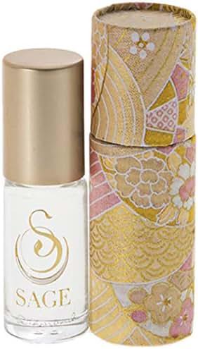 Diamond Roll-on Perfume Oil by Sage Machado – Niche Perfume – Gemstone Perfume - Travel Perfume – Subtle – Soft - Sensual – Rain Dew – White Amber – Oceanic Musk – White Floral – Vegan Perfume