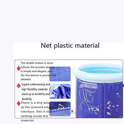 SBWFH プラスチックバスタブ - シンプルでスタイリッシュなデザイン、簡単で増粘バスタブ清潔にし、折り