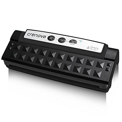 Vacuum Sealer, Crenova Automatic VS-1 Food Fresh Preservation Vacuum Machine for Dry / Moist / Sous Vide Packaging