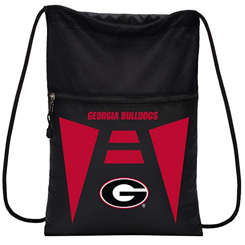 NCAA Georgia Bulldogs Sports Fan Backpacks, black, One Size