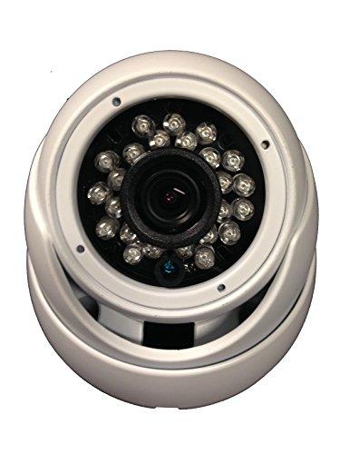Dome Indoor Camera Lens (101AV Security Dome Camera 1080P 1920x1080 True Full-HD 4in1(HD-TVI, AHD, CVI, CVBS) 2.8mm Fixed Lens SONY 2.4 Megapixel STARVIS IR Indoor Outdoor Camera WDR DayNight HomeOffice 12VDC)