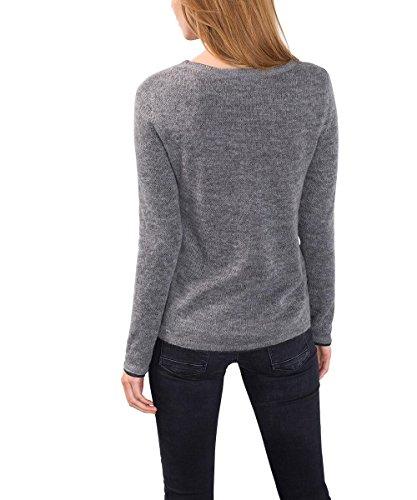ESPRIT, Suéter para Mujer Gris (grey 5 034)