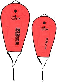 Scuba Diving Lift Bag, High Visibility Scuba Safety Lift Bag Dump Valve Pumping Diving Accessory for Scuba Div