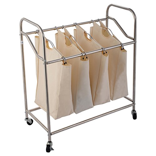 Giantex Laundry Rolling Storage Organizer