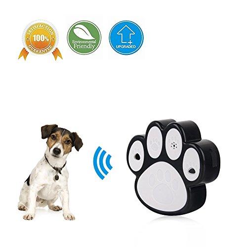 LT Sonic Bark Control,Outdoor Bark Deterrent,Ultrasonic Dog Bark Controller,Dog's Paw Design,Up To 50 Feet Effective,2018 (Sonic Fence)