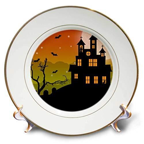 3dRose Janna Salak Designs Halloween - Halloween Haunted