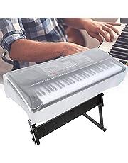 XIAOLINGTONG Piano Keyboard Cover Dust Cover Frosted Transparant Muziekinstrument Piano Synthesizer kan worden uitgebreid (88 toetsen)
