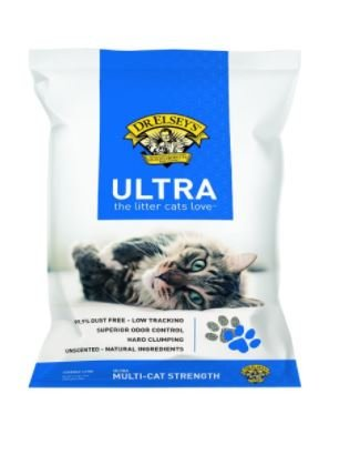 4 Pack Precious Cat Ultra Premium Clumping Cat Litter 18 Pound Bag
