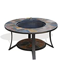 Amazon Com Fire Tables Patio Lawn Amp Garden