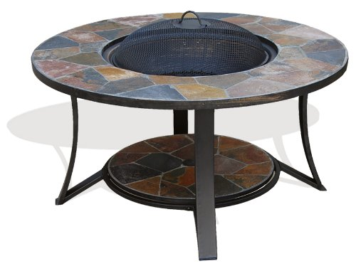 Deeco Consumer Products Arizona Sands Ii Fire Pit Table by Deeco Consumer Products