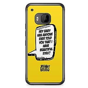 Loud Universe Quote Johny Bravo HTC M9 Case Classic Cartoon Johny Bravo Quote HTC M9 Cover with Transparent Edges