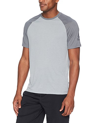 Reebok Supremium Tee, Large, Flight/Alloy