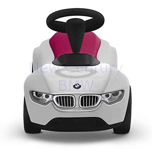 (BMW Genuine Baby Racer III - White / Raspberry Red)