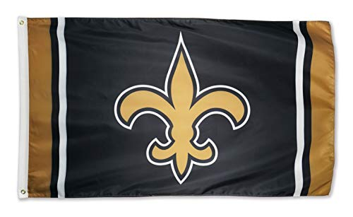 XIFAN New Orleans Saints 3x5 Foot Polyester Flag