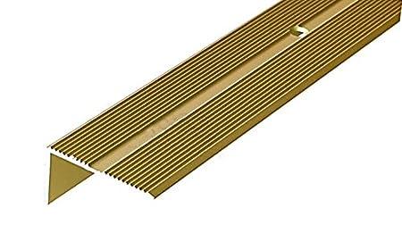 Marvelous Anodised Aluminium Anti Non Slip Stair Edge Nosing 40mm X 20mm   2M (