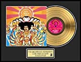 Jimi Hendrix ''Axis: Bold As Love'' framed gold record