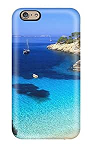 First-class Case Cover For Iphone 6 Dual Protection Cover Exotic Bay Azure Ocean Water Beach Nature Other