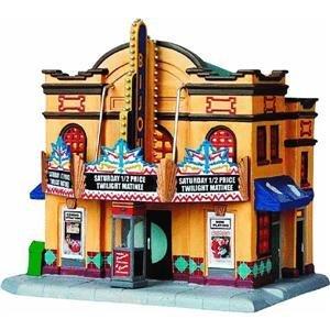 Lemax 95884 Bijou Theater Lighted Building Christmas Vill...