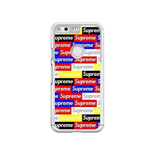 best website 344b3 913ce Amazon.com: Inspired by Supreme case for google pixel 2 3 xl HTC one ...