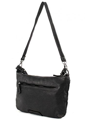 FredsBruder Value Shoulder Bag black Black (Negro)