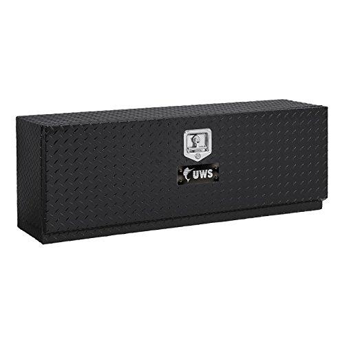 UWS TBTS-60-BLK Topsider Black Aluminum One Door Toolbox