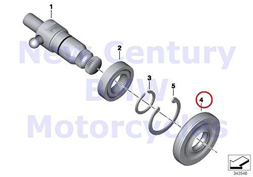 BMW Genuine Motorcycle Selector Shaft Shaft Seal 17X42X7.5 R nine T R1200GS R1200GS Adventure HP2 Megamoto R1200RT R900RT R1200R HP2 Sport by BMW