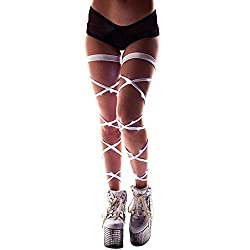 Light-up Leg Wraps With White Lights