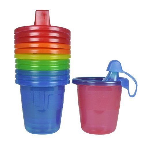 - The First Years Take & Toss Spill-Proof Sippy Drink Cups - 7 Oz, 6 Pack, NEW
