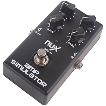 nux as 4 distortion pedal guitar effect pedal guitar amplifier simulator everything. Black Bedroom Furniture Sets. Home Design Ideas