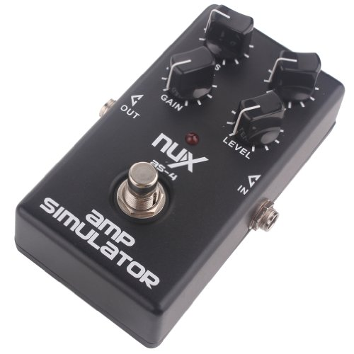 NUX AS-4 Distortion Pedal Guitar Effect Pedal Guitar Amplifier Simulator