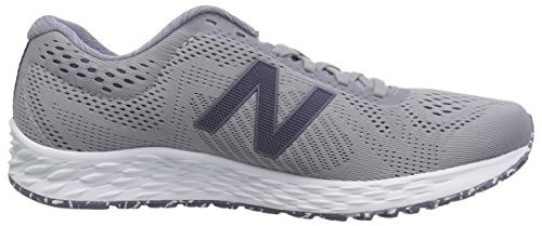 New Balance Women's Fresh Foam Arishi V1 Running Shoe, Light Grey/Purple, 5 B US by New Balance (Image #7)