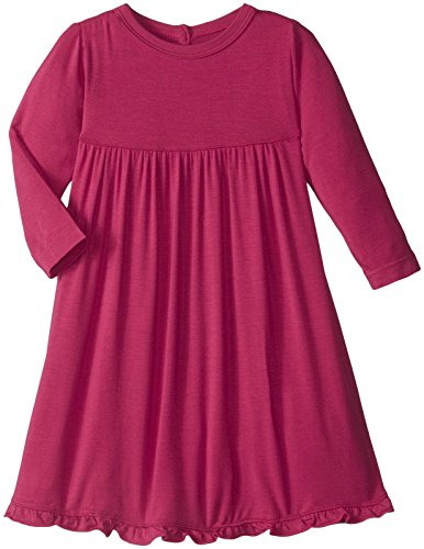 kickee-pants-baby-girls-long-sleeve-swing-dress-prd-kpd121-rdn-rhododendron-12-18-months
