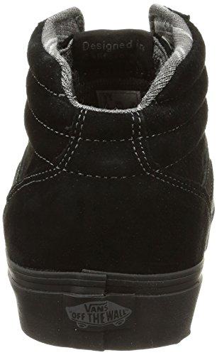 Basses Homme Milton MTE Baskets Noir Hi M Black Vans Pewter BxYwX5qStn