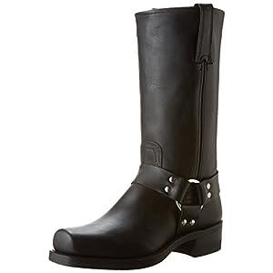 FRYE Men's Harness 12R Boot,Black,11.5 M US