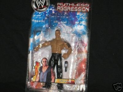 RUTHLESS AGGRESSION SERIES 8 THE ROCK ACTION FIGURE