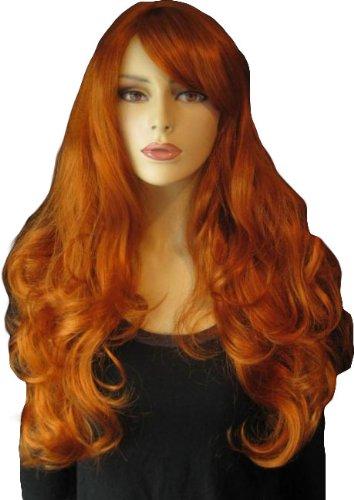 Annabelles de las pelucas y duración del, And leisure Online, color rojo y con
