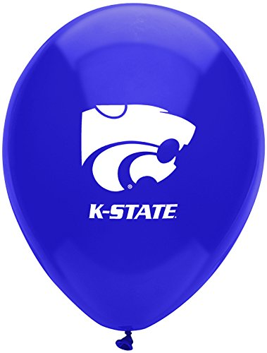 Pioneer Balloon Company 10 Count Kansas State Latex Balloon, 11'', Multicolor