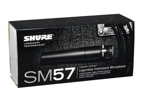 042406051316 - Shure SM57-LC Cardioid Dynamic Microphone carousel main 3