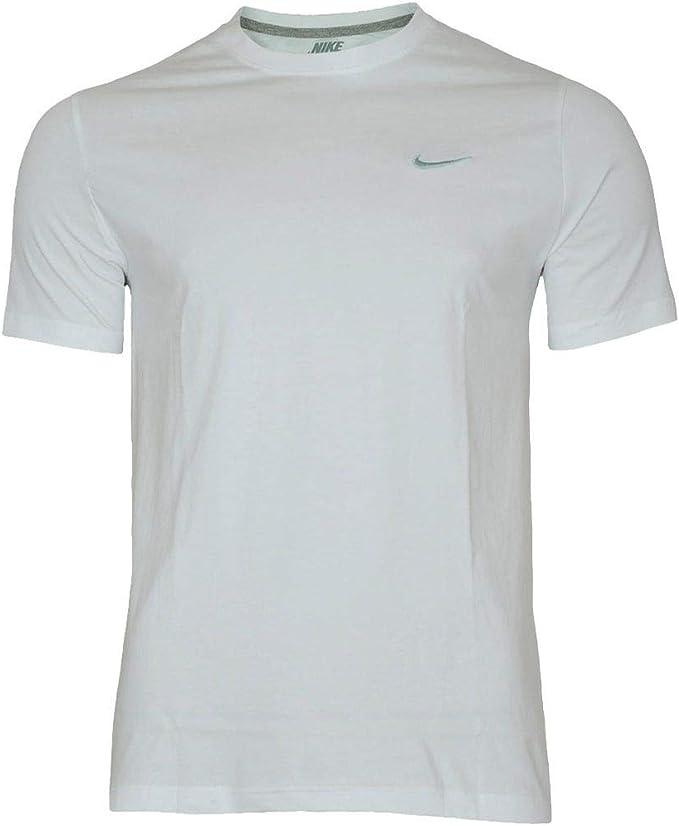 NIKE Embroidered Swoosh - Camiseta de Mangas Cortas para Hombre: Nike: Amazon.es: Ropa y accesorios